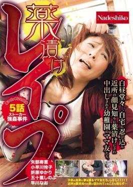 NASS-500 studio Nadeshiko - I Want To Deprive Drugged Rape Flesh 5 Episode Stalker Rape Case